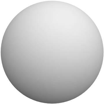 細胞の模式図であるが、 ここでの見た目は、ただの球体。